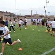 Estudiantes del Little College participaron en clínica deportiva impulsada por ZofriSA