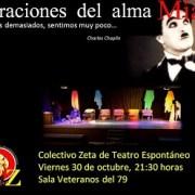 """""""Narraciones del Alma"""", presenta el Colectivo Zeta de Teatro Espontáneo"""