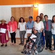 Adultos Mayores de Huara recibieron certificación de Programa Vinculos
