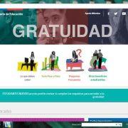Mineduc lanza página web con información sobre la gratuidad 2016