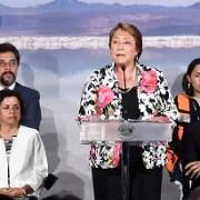 """Presidenta Bachelet: """"Litio chileno no será un caso de desarrollo frustrado, sino  ejemplo de futuro bien construido"""""""