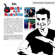 Comediante argentino, Jorge Alis, amenizará jornada inaugural de Feria de Emprendimiento del FOSIS Tarapacá