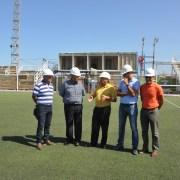 CORES  inspeccionaron obras de estadio de Alto Hospicio para debut del CDI