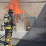 Observadores de emergencia asistieron a simulacro de incendio y evacuación en CCP