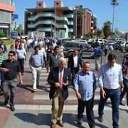 Unos 120 delegados de la Caravana de la Integración recorrieron la Zona Franca