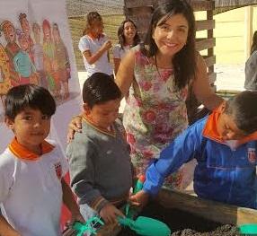 FOSIS implementa proyecto «Vive tu huerto», en diversas escuelas de la Región