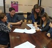 Intendenta visita oficinas del PRODEMU para conocer proyectos institucionales