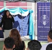 Se inició el año escolar 2016 en el Centro de Justicia Juvenil de Iquique.