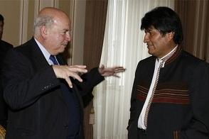 """Evo preguntó a Miguel Insulza si lo que esperaba era un diálogo de """"presidente a presidente"""""""