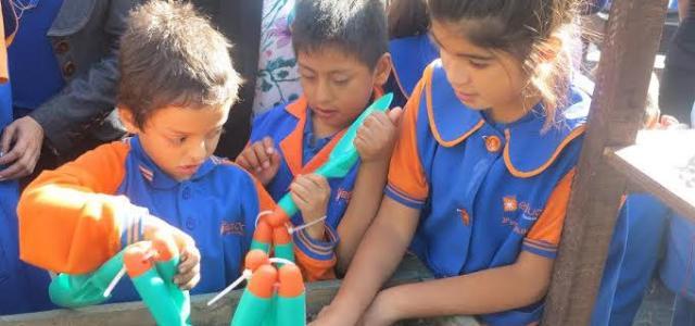 Programa de Huertos Escolares del FOSIS promueve estilo de vida saludable en los escolares