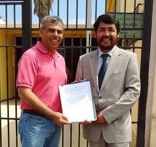 Ahora alcalde electo Mauricio Soria, reclama ante el TER por solicitud de recuento de votos presentado por Ebensperger