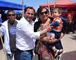 Intensa campaña en Hospicio realiza candidato de la NM Patricio Ferreira