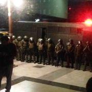 ANEF y CUT se tomaron la Intendencia Regional y condicionaron su salida al retiro de las fuerzas policiales