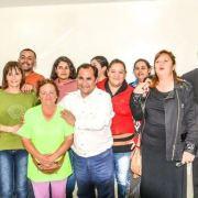 Aún no asume como alcalde, pero la agenda de Patricio Ferreira está recargada de actividades comunitarias