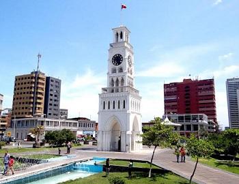 Filtraciones  provocan aumento en porcentaje de humedad en la madera del reloj de la Plaza Prat