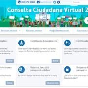 Registro Civil  cuenta con nueva y más moderna página web