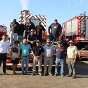 Este fin de semana llegan a la zona de la catástrofe los bomberos de Iquique