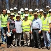 Hasta la octava región viajó el alcalde Patricio Ferreira para entregar la ayuda de Alto Hospicio