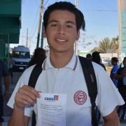 Pozoalmontino de 17 años entrega su testimonio de compromiso cívico y llama a voluntarios a capacitarse para Censo 2017