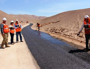 MOP avanza en mejorar 1.036 kilómetros de rutas en Tarapacá con Plan de Caminos Básicos.