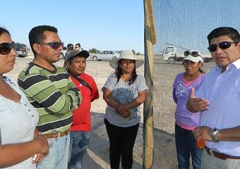 Ganaderos, productores de hortalizas, verduras y frutas de Bajo Soga en diálogo con autoridades comunales