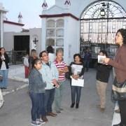 Vecinos realizan recorrido patrimonial por el histórico Cementerio Nº 1