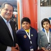 """Estudiantes de Pozo Almonte exponen proyectos de cómic digital y radio online en """"Feria Virtual Educa"""", en Santiago"""