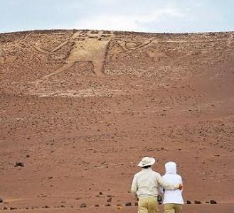 Buscan valorar el arte rupestre simbolizado con la figura antropofórmica del Gigante de Tarapacá