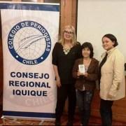 En el Día del Periodista entregan premio a la trayectoria a Dora Chipoco Jorquera