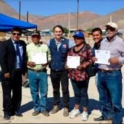 Completo despliegue de apoyo a la Agricultura Familiar Campesina en El Tamarugal