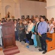 Unos mil devotos asistieron a la Misa de adultos mayoresenfiesta de San Lorenzo
