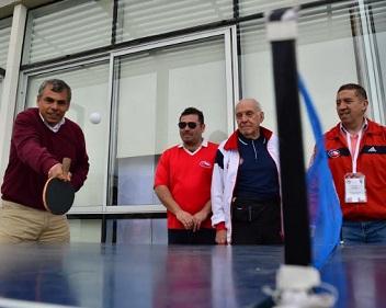 Más de 200 deportistas participarán en Campeonato Nacional de Tenis de Mesa Máster