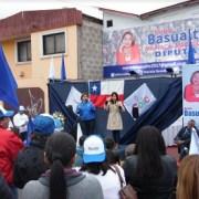 Candidata a diputada Mariela Basualto inauguró sede de su comando electoral
