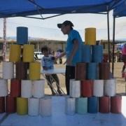 Juegos criollos en Fiestas Patrias a la manera pampina en Salitrera Humberstone