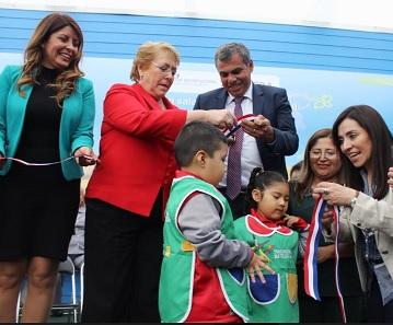 A 148 niños albergará Jardín Infantil Calichito,  que pasó de ser un centro abierto a un moderno jardín infantil