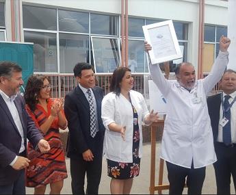 Hospital «Ernesto Torres Galdames» recibe certificado de Acreditación en Calidad y Seguridad del Paciente
