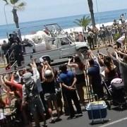 De cuatrocientos mil fieles esperados a la Misa papal de Playa Lobito, sólo llegaron unas 100 mil personas