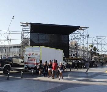 Municipalidad de Iquique tiene todo listo para la realización del show de cierre del verano 2018