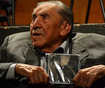 A los 98 años, Vicente Bianchi presenta disco con obras inéditas. álbum fue grabado por la Orquesta de Cámara de Chile