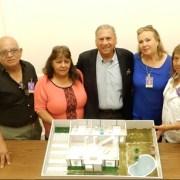 En antiguo edificio del Congreso en Santiago, Senador Soria se reúne con dirigentes de Cooperativas