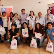 """Entregan """"kit eficiente"""" en comunidad quechua de Quipisca para motivar prácticas adecuadas en el consumo energético"""
