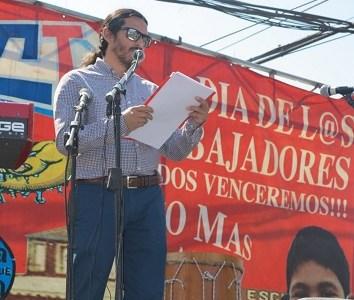 Con fuertes críticas al gobierno de Piñera, se realizó acto por los trabajadores convocado por la CUT
