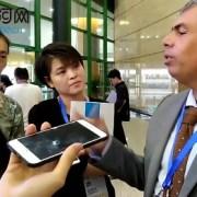 Alcalde Soria difunde ventajas de Iquique en Foro Internacional de Turismo que se desarrolla en China
