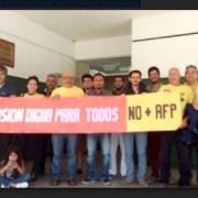 Coordinadora NO+AFP inicia campaña de concientización sobre propuesta contra el actual sistema de pensiones