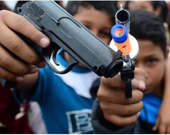Niños en barrios pobres: cuando la violencia es el único camino