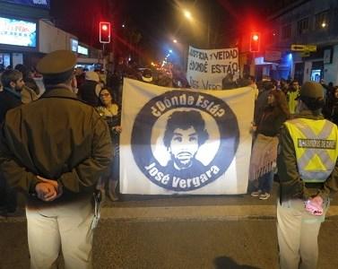 A semanas de segunda audiencia familiaresexigen justicia y verdad para José Vergara, de cuya desaparición forzada y en democracia se acusa a 4 carabineros.