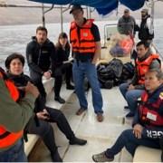 ONG Océana, especialistas de la UNAP y Seremi de Medioambiente, recorren Punta Patache y Punta Pichalo para analizar biodiversidad
