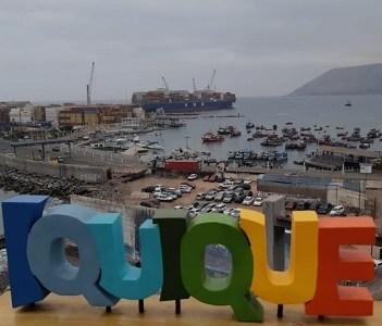 Puerto de Iquique es considerado por empresa internacional de transporte marítimo, como ruta estratégica al Asia Pacífico
