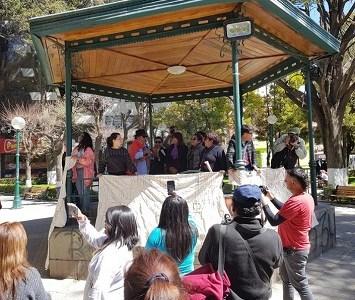 Caravana Iquique a Oruro, marcó un nuevo hito de la integración y la hermandad que surge de los pueblos