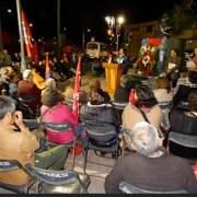 A 48 años del triunfo de Salvador Allende, organizaciones políticas y de DDHH participan en acto en su honor